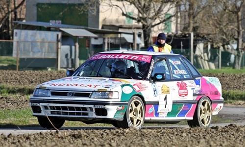 A Sanremo con la Subaru e Luise