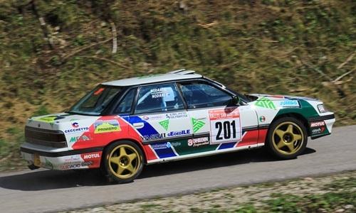 Centrata la doppietta al Rallye San Martino